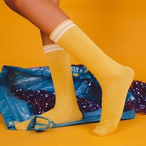 Accessories - Sublime High Socks   Yellow